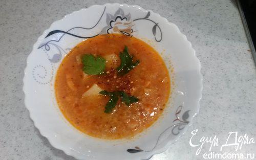 Рецепт Рыбный супчик из семги в мультиварке