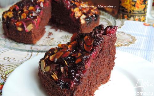 Рецепт Шоколадный пирог на сметане
