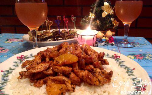 Рецепт Куриная грудка в китайском стиле