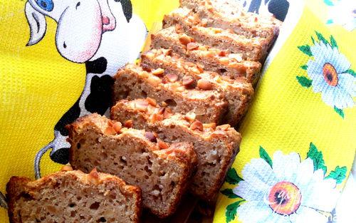 Рецепт Орехово-гречневый хлеб-кекс