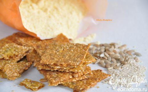 Рецепт Шведские хрустящие хлебцы с семенами
