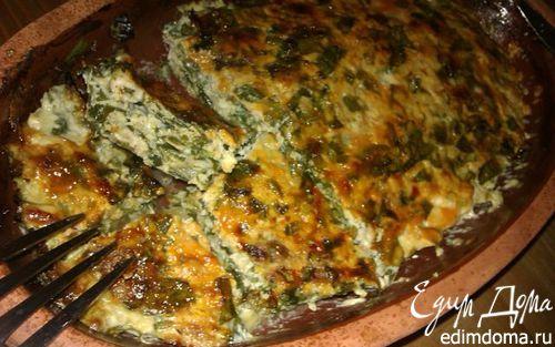 Рецепт Запеканка из курицы с сыром и шпинатом