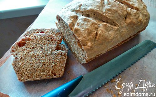Рецепт Бездрожжевой хлеб на пиве