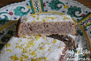 Лимонно-имбирный кекс с орехами пекан