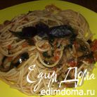 Паста с баклажанами в томатном соусе