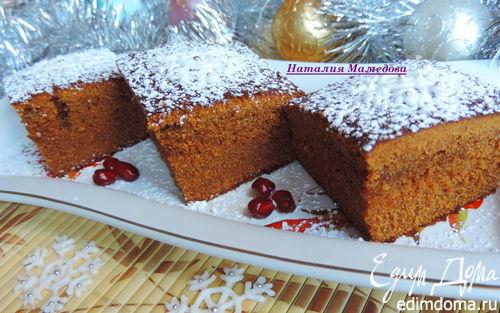 Рецепт Новогодний имбирный пирог