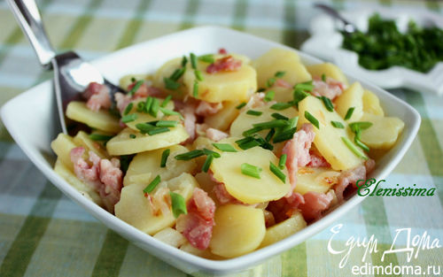 Рецепт – Немецкий картофельный салат