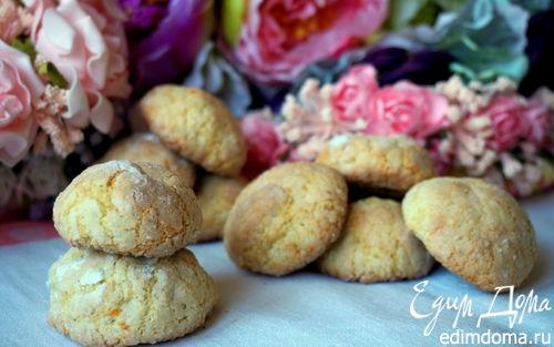 Рецепт Кокосово-апельсиновое печенье