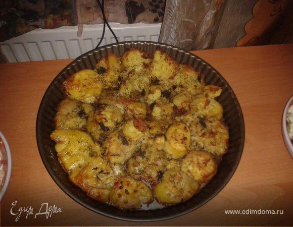 Картошка запеченная с хрустящей корочкой