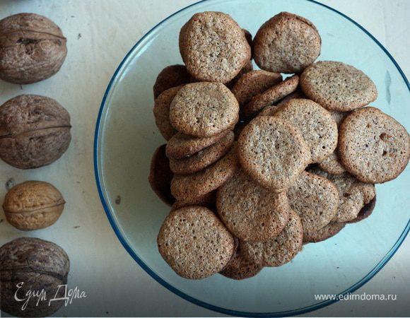 Орехово-кофейное печенье