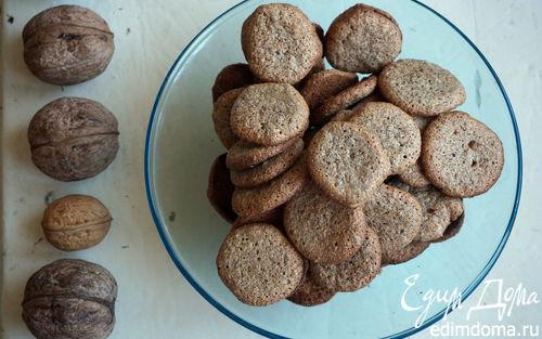 Рецепт Орехово-кофейное печенье
