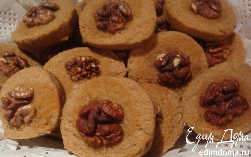 """Рецепт печенье """"Сабле""""с гречневой мукой"""
