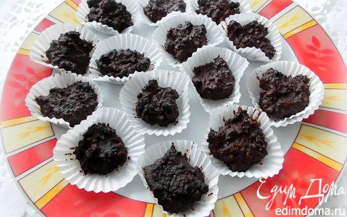 Рецепт Шоколадно-ореховые конфеты