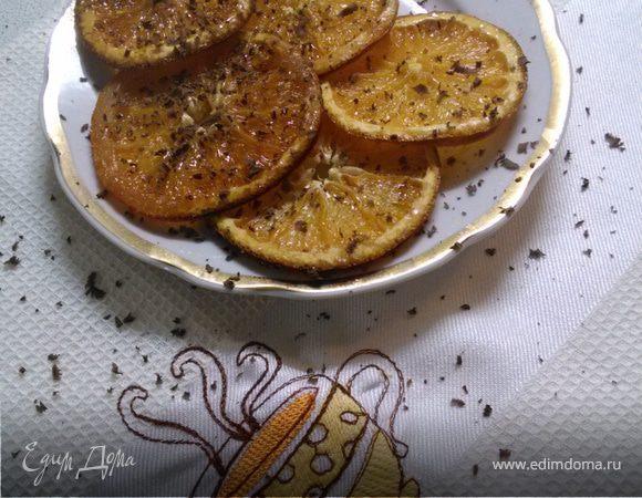Засахаренные апельсины