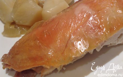 Рецепт Курица с картошкой и фенхелем