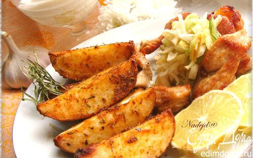 Рецепт Запеченный пряный картофель