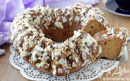 Рецепт Карамельный кекс с глазурью