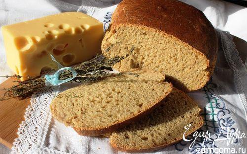 Рецепт Пшенично-ржаной хлеб с картофелем и сыром
