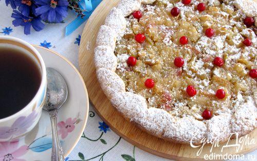 Рецепт Яблочно-грушевый пирог