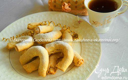 Рецепт Кифлики с фундуком
