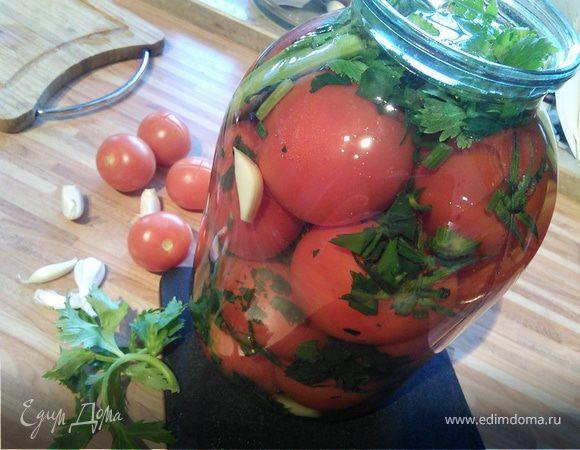 Солёные помидоры зимой