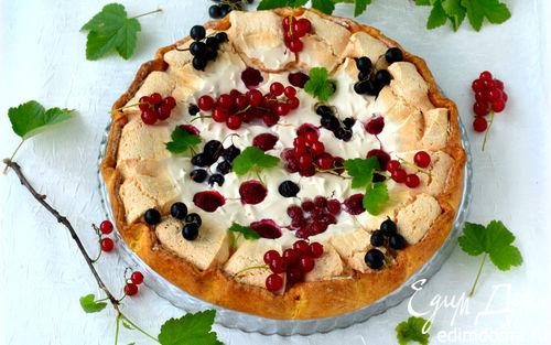 Рецепт Галета с безе и ягодами