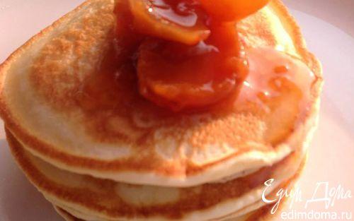 Рецепт Оладьи на кефире без яиц
