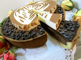 "Торт ""Tartelletta Tiramisu"" от Луки Монтерсино"