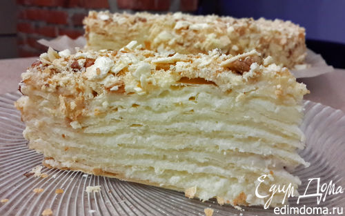 Мокрый торт рецепт с фото пошагово