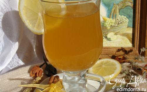 Рецепт Фруктовый чай с чабрецом и пряностями