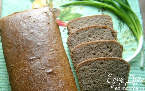 Рецепт Немецкий фермерский ржано-пшеничный хлеб на закваске