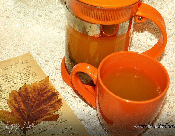 Чай с облепихой, мятой и лимоном