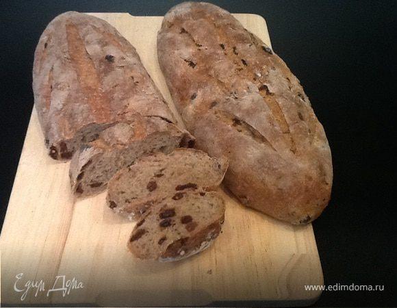 Пшенично-ржаной хлеб от Ришара Бертине