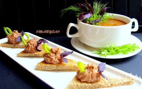 Рецепт Фасолевый суп-пюре с сельдереем и морковью