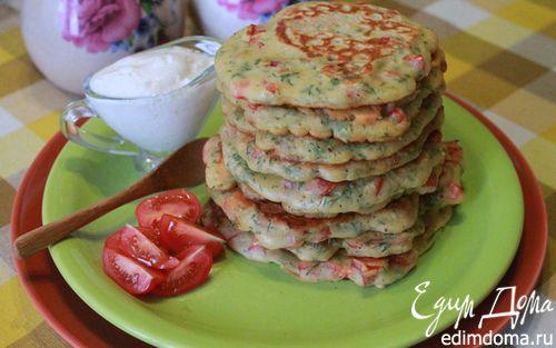 Рецепт Пудла - оладьи из гороховой муки