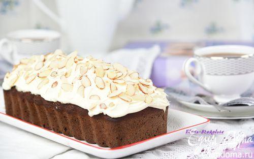 Рецепт Черемуховый кекс на меду