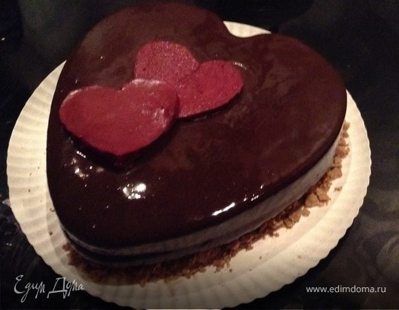 Шоколадно-муссовый торт