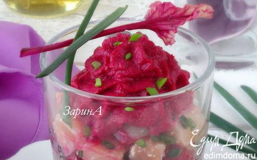 Рецепт Веррины с семгой и кускусом