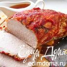Запеченная свинина в томатной глазури