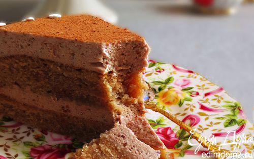 Рецепт Шоколадно-муссовый торт