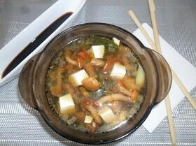 Мисо суп с опятами