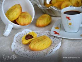 Мадлен орехово-шоколадное