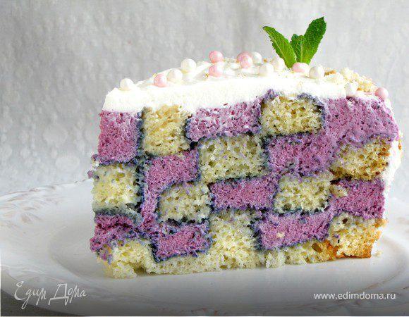 "Торт ""Шахматная королева"""