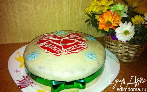 Рецепт Праздничный фруктовый кекс