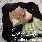 Куриная печень в яблочно-сметанном соусе