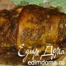Свиная рулька и запеченный картофель