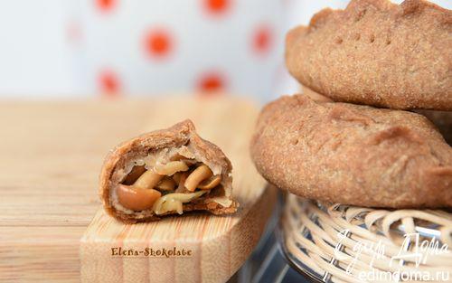 Рецепт – Постные пирожки с маринованными опятами