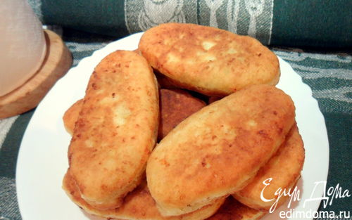 Рецепт Пирожки с ливером на творожном тесте