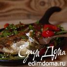 Камбала-гриль с овощами