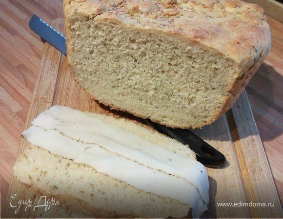 Картофельный хлеб с петрушкой